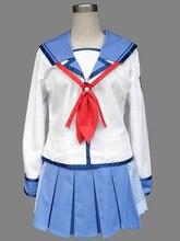 Angel Beats yuri Cosplay uniforme Anime mujeres cosplay sailor cosumes halloween