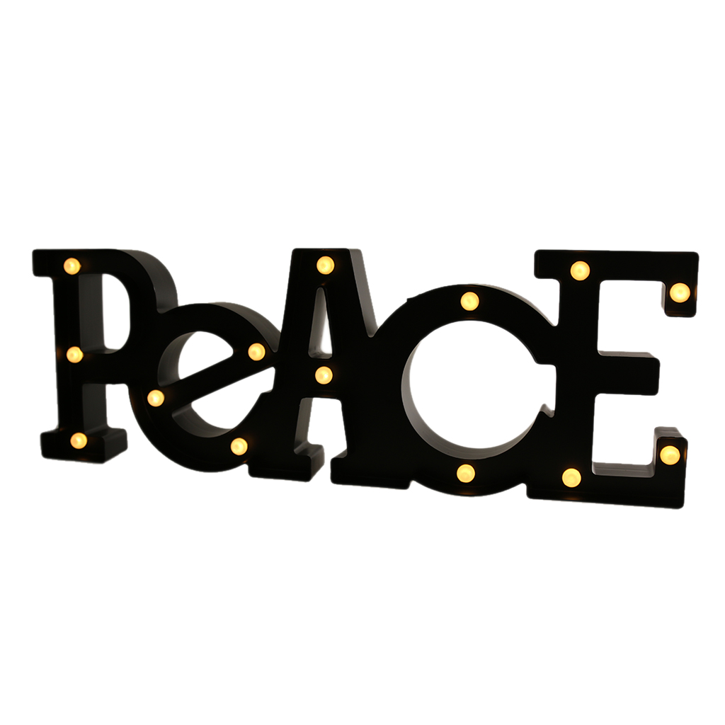 Buy lighted peace sign and get free shipping on AliExpress.com