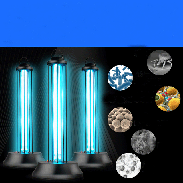 Good UV Disinfection Ozone Sterilizer Lamp Home Kindergarten Kill Mite  Sterilization Ultraviolet Tube Instead Solarium Cleaner