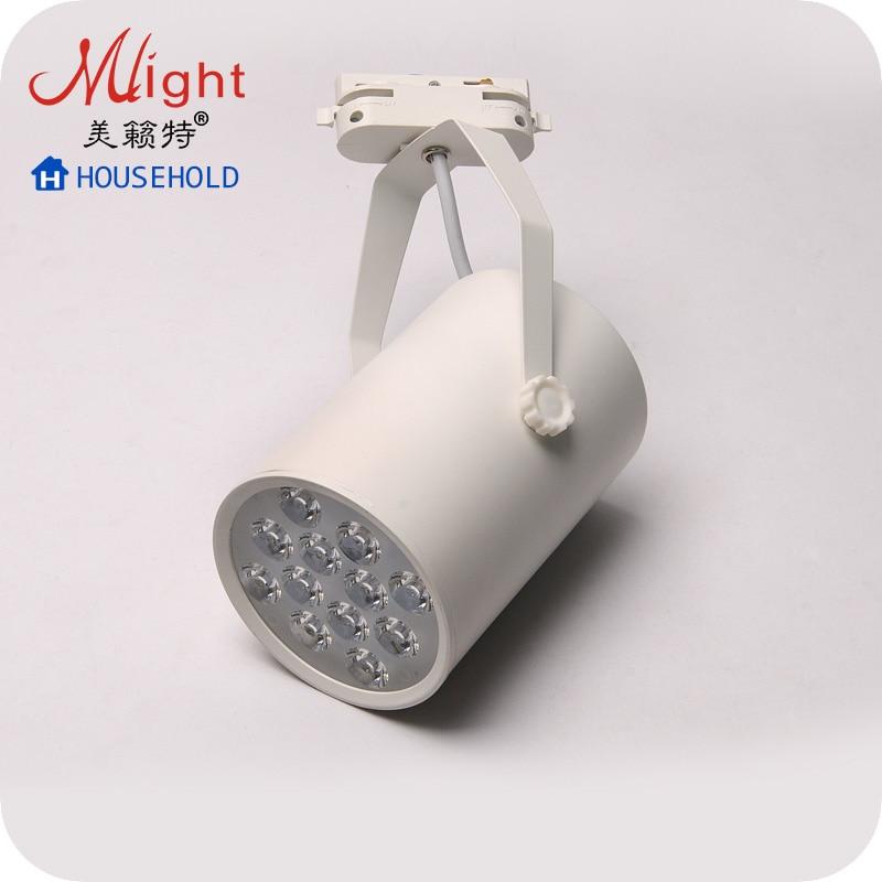 ФОТО High Quality 85-220V 12W LED Spotlight for Showcasing in Store Light Fixture Track Spot Lights