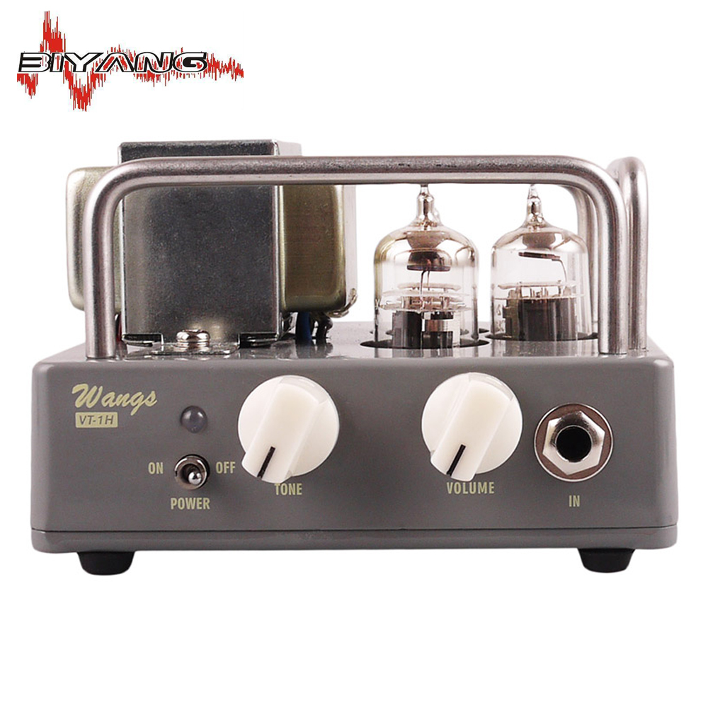 Electric Guitar All Tube Amplifier Head Biyang Wangs Black AMP Tube Head Adjust Volume And Tone New 1000 D