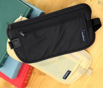 цена на Nylon water proof Waist Bag High Quality Travel Waist Pouch Belt Money Wallet Bags Passport Holders Change Safe Strap