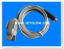 DATASCOPE ADULT SPO2 SENSOR SPO2 PROBE ROUND 8 PIN MALE CONNECTOR