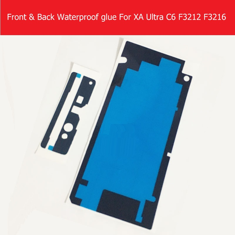 Touch Screen Panel & Back Cover Waterproof Sticker For Sony Xperia XA Ultra C6 F3212 F3216 Waterproof Adhesive Glue Replacement