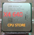 AMD Athlon II X4 640 3GHz AM3 938-pin Processor Dual-Core 2M Cache 45nm Desktop CPU (working 100% Free Shipping)