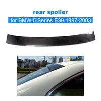 BMW 5 시리즈 E39 1997-2003 용 카본 파이버 리어 루프 스포일러 어퍼 윙 립