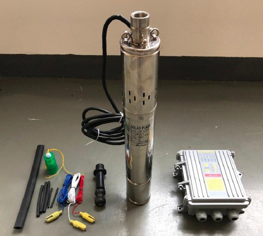 600 Вт DC60V Бесплатная доставка солнечный насос солнечной глубинного бомба Max. подъем 120 м 3SSH1. 8/120-D60/600