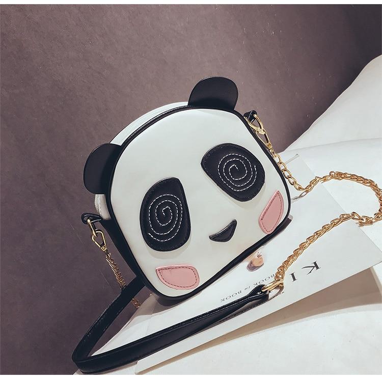 Bolsa Transversal Divertida Feminina Panda
