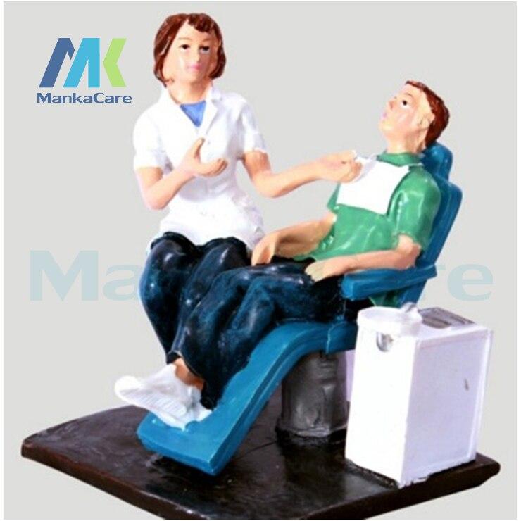 Artware dentaire dents artisanat dentiste cadeau résine artisanat jouets clinique dentaire décoration ameublement Articles créatifs Sculpture
