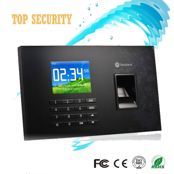 A-C051 biometric fingerprint time attendance built in RFID card reader with TCP/IP communication fingerprint time clock recorder 3 inch color screen m200 ic 13 56mhz smart card time attendance time recorder time clock with tcp ip