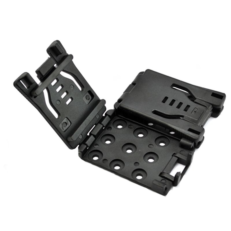 Multifunction Waist Clip Back Clamp with K Sheath Scabbard Outdoor Plastic EDC Gear Tools for Camping