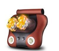 Family Car Massage Lumbar Massage Device Neck Cervical Vertebra Multifunctional Massage Pillow Massage Cushion Infrared Heating