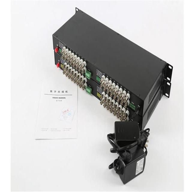 Transceiver óptico de vídeo, Transmissor de fibra óptica, Vídeo 32ch reverso ch rs-485, Conversor de fibra óptica, Modo único