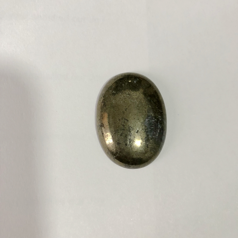 Wholesale Price, Pyrite Cabochon 22x30mm Oval Gem stone Cabochons pendant CAB For jewelry 1 pcs