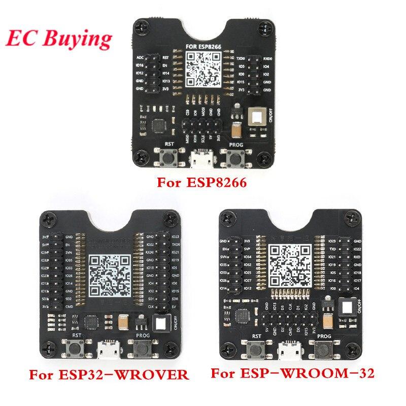 ESP8266 ESP-WROOM-32 ESP32-WROVER prueba Junta pequeño lote quemar accesorio para ESP8266 para ESP-32 para ESP-WROOM-32 módulo