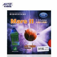 1x Galaxy/voie lactée/Yinhe Mars 2 (accordé en usine) Tennis de Table (ping-pong) en caoutchouc avec éponge