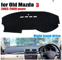 Car dashboard covers mat for Old MAZDA 3 2003 to 2009 right hand drive dashmat pad dash covers Instrument platform accessories