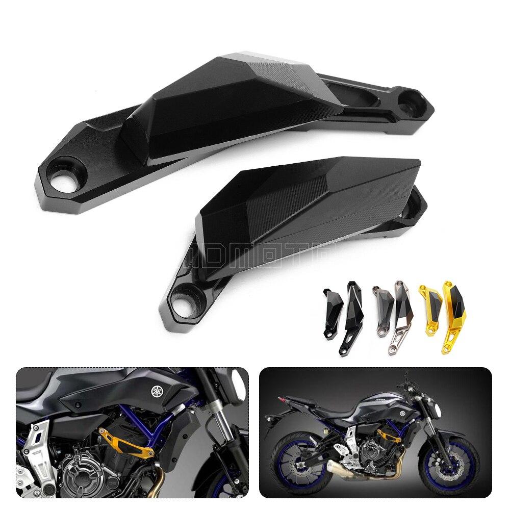 Motos Gauche et Droite Pliable Tapis Moteur Cadre Sliders Accident Protecteur Pour Yamaha MT-07 MT07 MT 07 2014 2015