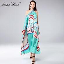 Модельное дизайнерское платье moaayina весна лето женские свободные