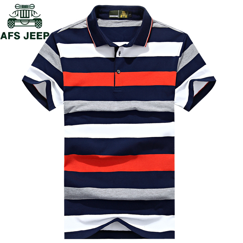 New 2018 Brand Striped   Polo   Shirt Men Cotton High Quality Tops Tees   polo   hombre Plus Size 3XL Business men brands   Polos   Shirts