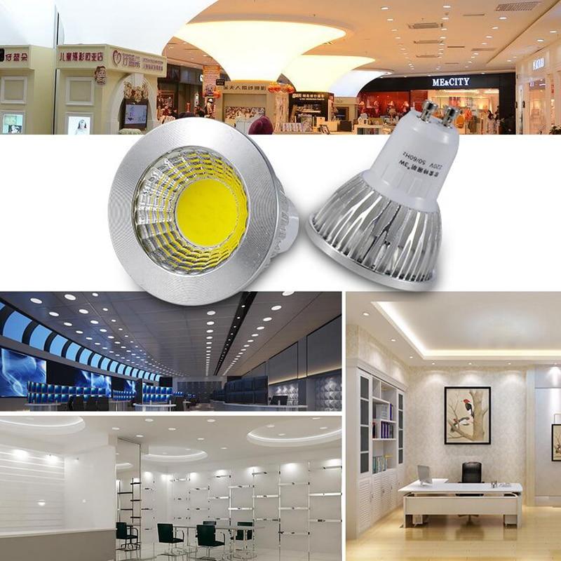1PCS Super Bright GU10 LED Bulbs Dimmable AC110v 220v 9w 12w 15w LED Lamp Light e27 gu5 3 e14 b22 mr16 12v Led Spotlight bulb in LED Bulbs Tubes from Lights Lighting