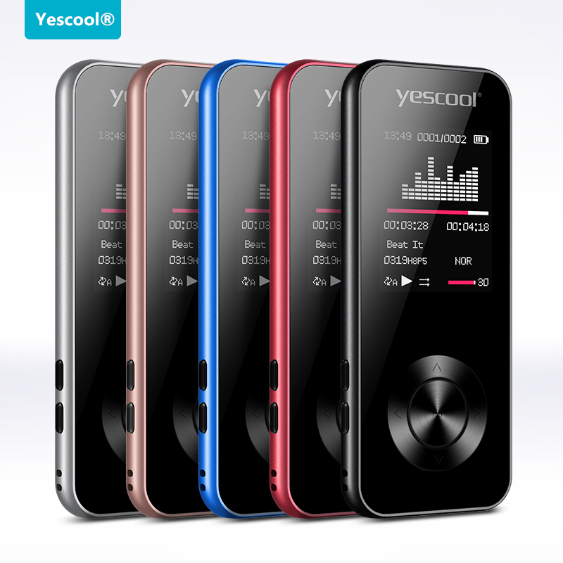 Yescool X2 mp4 music player support speaker video play FM radio voice recording picture review ebook alarm clock walkman image