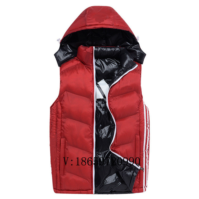 Men of 2016 autumn winters thickening vest Thermal reversible cultivate one's morality quality ma3 jia3
