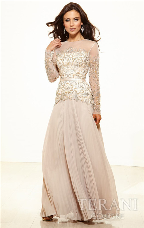 Aliexpress.com : Buy 2014 New Formal Evening Gown For Mother Gold ...