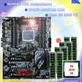 Novo! runing super atx x79 lga2011 placa-mãe 8 ddr3 dimm slots max 8*16g memória xeon e5 2650 v2 cpu 128g (8*16g) 1600 mhz ddr3 recc