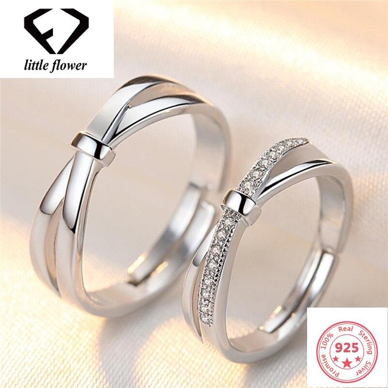 Винтажное кольцо для пары женское, из серебра 925 пробы, с бантом, открытые для мужчин, Etoile Bizuteria, драгоценные камни, ювелирные изделия из перид...