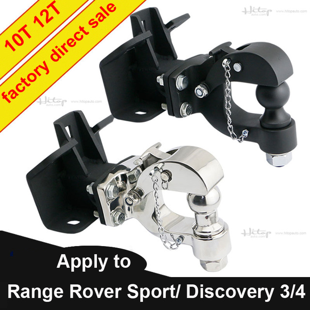 trailer hook Trailer Hitch Tow bar for Range Rover Sport Discovery 4 Discovery 3, manganese steel or 304 stainless steel,10T/12T