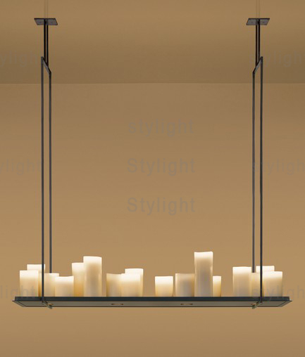 Kevin Reilly Altar Modern Pendant Lamp Led Candle Chandelier Light Metal Fixture Suspension In Lights From