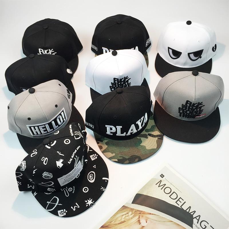 [illfly] 11 estilos Algodón Snapback Basebll Cap Gorros Snapback Para Mujeres Hombres Marca Sombrero Hip Hop Hueso Gorras Casquette sombreros