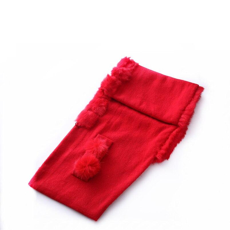 ZY87035 conception spéciale mode automne hiver écharpe en laine avec col de lapin de luxe femmes châle enveloppe Poncho solide - 6