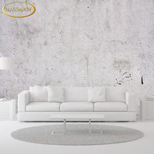 Free Shipping Modern minimalist abstract retro concrete wall TV backdrop wallpaper 3D stereo bedroom lobby restaurant mural