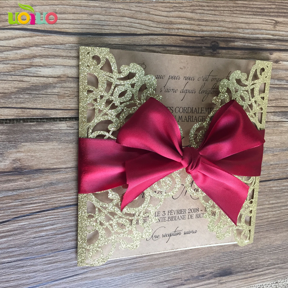 Buy wine wedding invitations and get free shipping on AliExpress.com