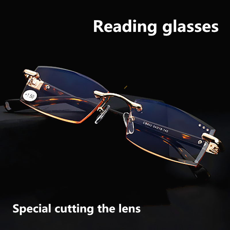 Hoge kwaliteit speciale snijden presbyopie lenzen mannen stijl - Kledingaccessoires - Foto 2
