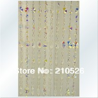 Livraison gratuite! AAA + taille 90 cm * 200 cm De Luxe cristal brin perle rideau pour la maison de mariage décoration