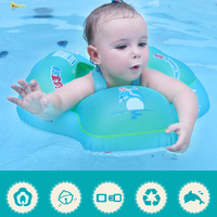 Baby Swimming Pool Accessories baby Tube Ring Swim Neck Ring Safety Infant Neck Float Circle For Bathing Inflatable