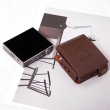 Étui en cuir dorigine de haute qualité pour lecteur de musique Hidizs AP80