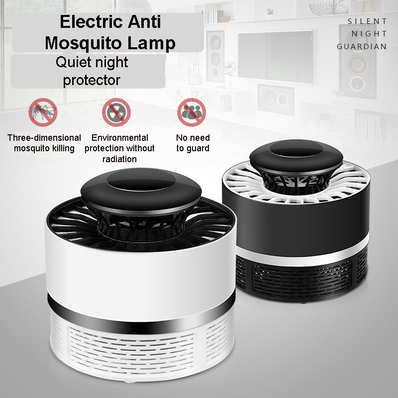 Mosquito Killer Lamps USB Electric Photocatalysis Mute Home Outdoor LED Bug Zapper Insect Trap Radiationless Mosquito Killer