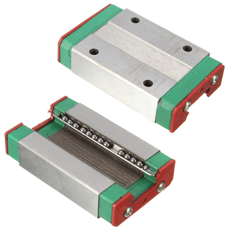 1 pc MGN12H Bloc Coulissant En Acier Durable Linéaire Guide 43x26x10mm Pour Linéaire Portant CNC XYZ DIY