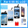 1PCS Best Quality AAA No Dead Pixel For IPhone 5 5G LCD Screen With Touch Digitizer