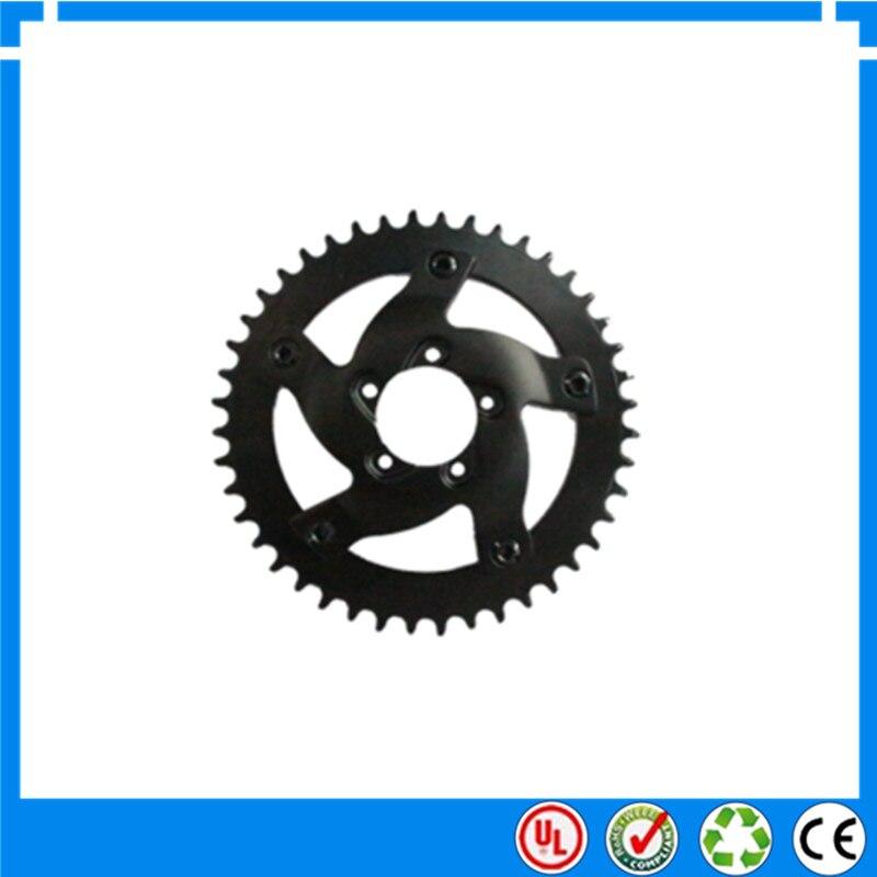 BAFANG 48V 1000W mid drive electric motor chain wheel 44T 42T 40T