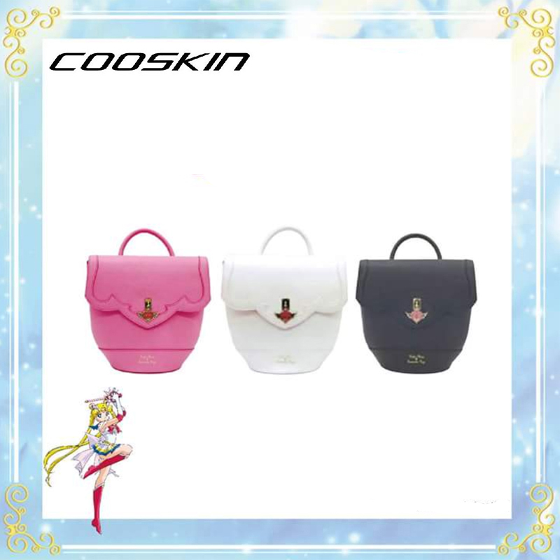 2017 new sailor moon luna artemis box shoulder bag student multi function bag backpack
