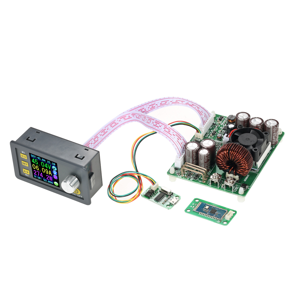 Programmable adjustable Power Supply Module voltage regulator Constant Voltage Current Communication Version + Bluetooth Board 1pcs 5pcs 10pcs 50pcs 100% new original sim6320c communication module 1 xrtt ev do 3g module