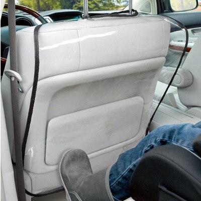 Детский коврик для автомобиля, сумка для хранения сидений 63 см X 45 см, Детская Автомобильная задняя крышка для сиденья, водонепроницаемый чехол для автомобильного сиденья - Цвет: without pocket