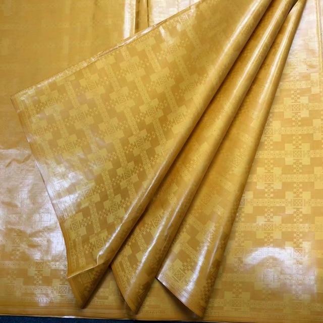 bazin riche getzner 2019 gold lace fabric atiku fabric for men ankara fabric high quality african sewing material5yard/lot 5808#