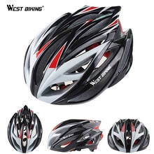 WEST BIKING Cycling Helmet Bike Special MTB Road/Racing/BMX Bicycle Cycle PC+EPS Safety Helmets Visor with Lining Pad Capacete