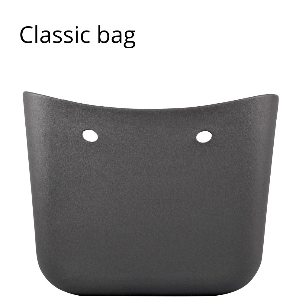 2019 Classic Big EVA Bag Body Women's Bags Fashion Handbag DIY Waterproof Obag Style Rubber Silicon O Bag Style Women Handbag